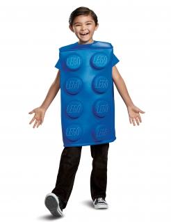 Lego®-Bausteinkostüm für Kinder Karneval blau