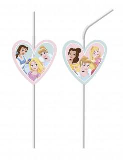 Disney-Prinzessinnen Strohhalme 6 Stück bunt