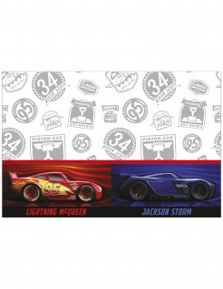 Cars 3™-Tischdecke Partydeko blau-rot-weiss 120x180cm