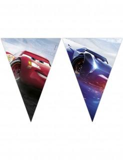 Cars 3™-Girlande mit 9 Wimpeln Raumdeko bunt 2,3mx25cm