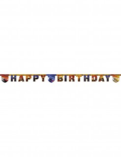 Cars 3™-Girlande Happy Birthday Partydeko 200x16cm