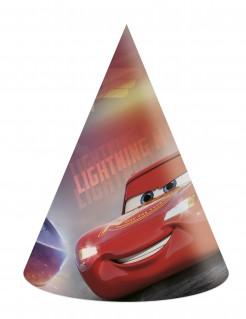 Cars 3™-Partyhüte Cars™-Fanartikel 6 Stück bunt
