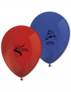 Spiderman™-Luftballons Superhelden-Partydeko 8 Stück rot-blau