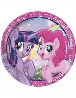 My Little Pony™-Pappteller 8 Stück bunt 23cm