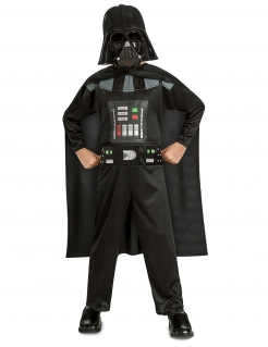 Darth Vader™ Lizenz-Kostüm für Kinder schwarz-grau