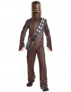 Chewbacca™-Kostüm für Kinder Star Wars™ Karneval braun