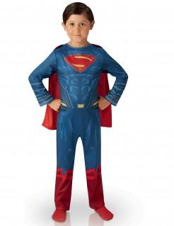 Superman™-Kostüm für Jungen Justice League™ blau-rot-gold