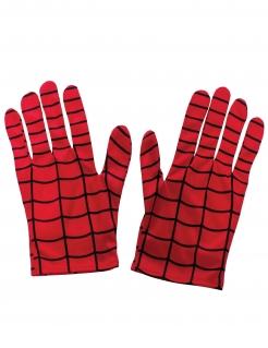 Offizielle Spiderman™-Handschuhe für Kinder rot-schwarz