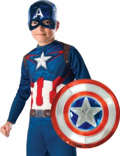 Captain America™-Accessoire-Set für Kinder blau-rot-weiss