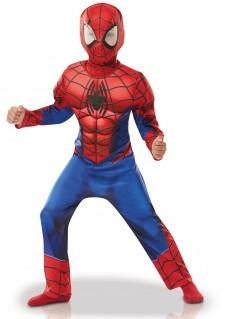 Hochwertiges Spiderman™-Kinderkostüm Marvel™-Kostüm Superheld rot-blau