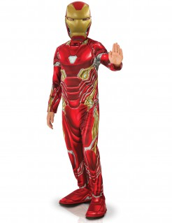 Iron Man™-Kinderkostüm Avengers Infinity War™-Lizenzkostüm rot-gold