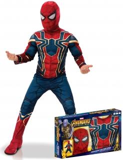 Iron Spider Deluxe-Kinderkostüm Infinity War™ blau-rot-goldfarben