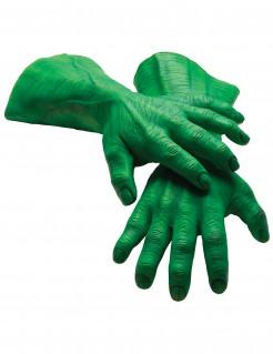 Hulk™-Latexhandschuhe für Erwachsene grün