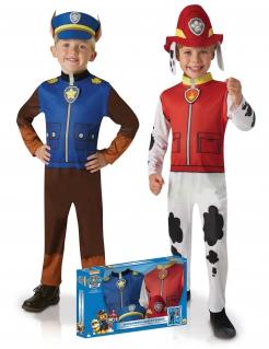 Paw Patrol™ Chase und Marshall Paarkostüm für Kinder bunt