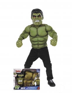 Hulk™-Kostüm Marvel™-Lizenzkostüm für Erwachsene grün