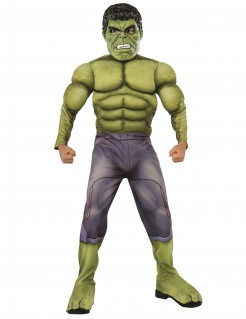 Hulk™-Kinderkostüm Marvel™ Kostüm für Kinder grün-lila