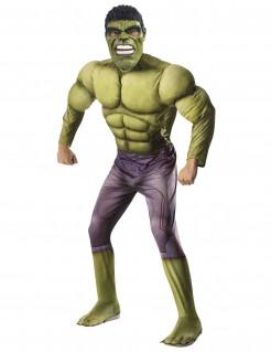 Hulk™-Kostüm Thor 3 Tag der Entscheidung™ Marvellizenzkostüm grün-lila