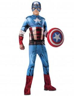 Captain America™-Kinderkostüm Marvel Avengers™ blau-rot-weiss