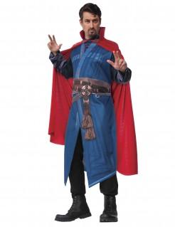Doctor Strange™-Umhang Marvellizenzprodukt rot 140cm