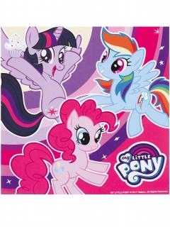 My Little Pony™ Servietten 20 Stück bunt