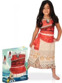 Vaiana™-Mädchenkostüm im Geschenkkoffer Faschingskostüm beige-rot
