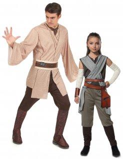 Star Wars™-Paarkostüm Jedi und Rey™-Kinderkostüm bunt