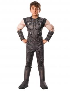 Luxuriöses Thor-Kinderkostüm Avengers Infinity War™ grau-hautfarben