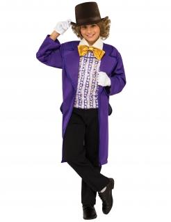 Willy Wonka™-Kinderkostüm aus Charlie und die Schokoladenfabrik™ bunt