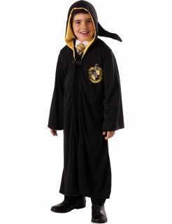 Harry Potter™ Hufflepuff Kinderkostüm schwarz-gelb