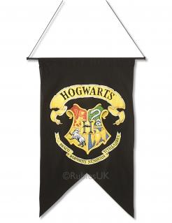 Harry Potter™ Hogwarts-Flagge Wappen Dekoration schwarz-gelb 76,2x50,8x35,6cm