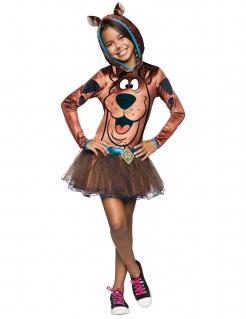 Scooby-Doo™ Kinderkostüm für Mädchen schwarz-braun-blau