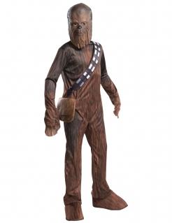 Chewbacca™ Star Wars™-Kostüm für Kinder Karneval braun