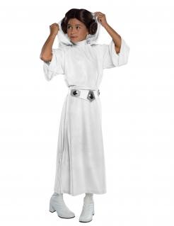 Prinzessin Leia™-Kostüm für Kinder Star Wars™ Karneval weiss
