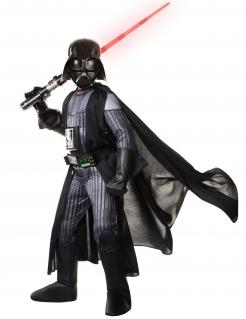 Darth Vader-Kostüm Star Wars™ für Kinder Karneval schwarz