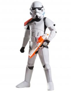 Stormtrooper™-Kinderkostüm Star Wars™ Fasching weiss-schwarz