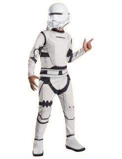 Flametrooper™-Lizenzkostüm für Kinder Star Wars™ Fasching weiss-schwarz
