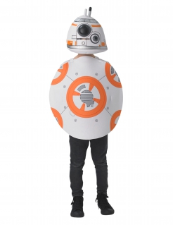 BB-8™ Kostüm für Kinder Karneval weiss-orange
