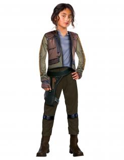 Jyn Erso™ Star Wars™-Kostüm für Kinder Karneval braun-grün