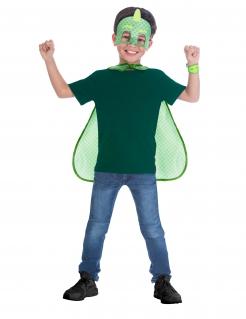 Gecko PJ Masks™-Zubehör-Kit für Kinder 3-teilig grün-weiss