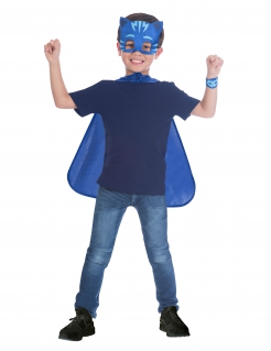 Catboy Zubehör-Set PJ Masks für Kinder blau