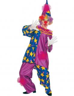 Clownkostüm für Herren bunt