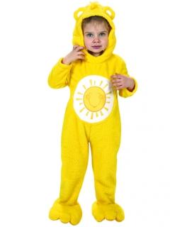 Sonnenscheinbärchi-Kleinkinderkostüm Glücksbärchis™-Lizenzkostüm gelb