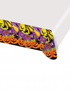 Kürbis-Tischdecke Halloween-Dekoration bunt 137x260cm