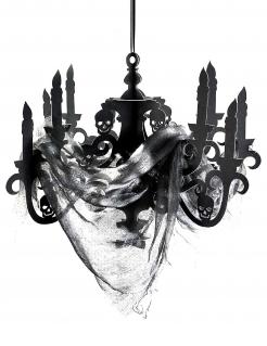 Kronleuchter Halloween-Dekoration schwarz 41x58 cm