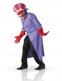 Wacky Races™-Lizenzkostüm Dick Heimtücke-Kostüm lila-rot