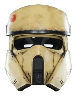 Shoretrooper-Maske Star Wars Rogue One™ beige-schwarz