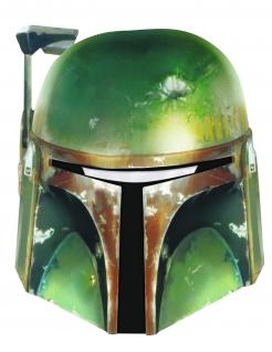 Boba Fett™-Maske Star Wars™ Kostüm-Accessoire grün
