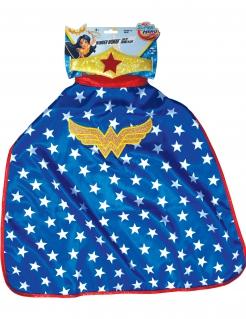 Wonder Woman™ Accessoire-Kit für Kinder 2-teilig bunt