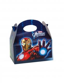 Avengers™-Geschenkboxen 4 Stück bunt 16x10,5x16cm
