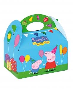Peppa Wutz™-Box Partydeko 4 Stück bunt 16x10,5x16cm